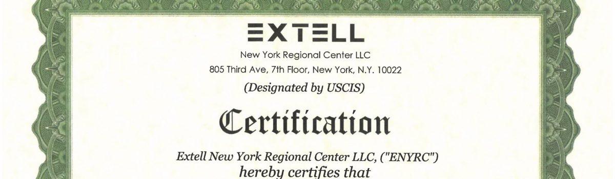 T.T.I – Tự hào là Đơn vị tư vấn đại diện CĐT Dự án EB5 – Extell (NY) tại VN