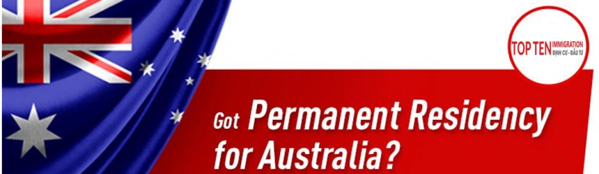 Các quyền lợi của Thường trú nhân Úc