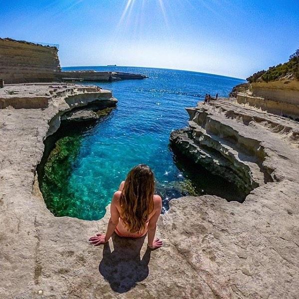 Biển Malta rất đẹp