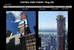 Hình chụp vào Quý 2/2018: Tiến độ dự án Central Park Tower - Thexanhquoctich