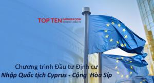 Đầu tư định cư nhập tịch Síp - thường trú nhân Châu Âu