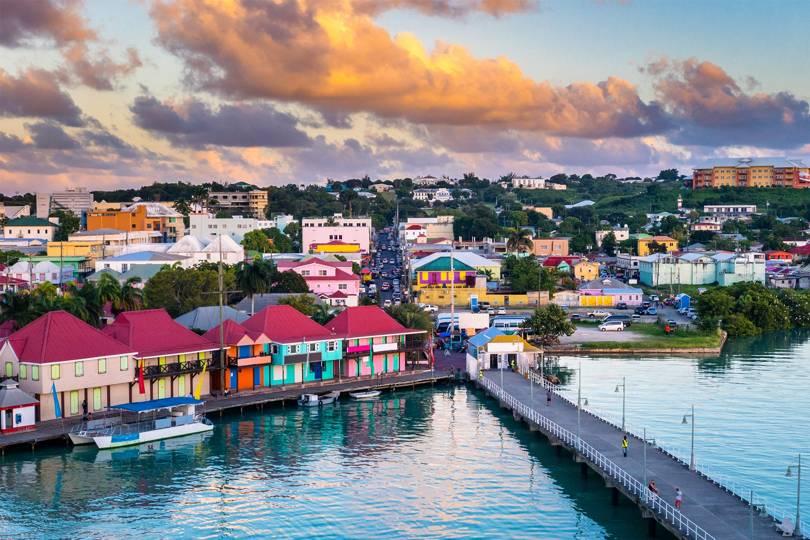 Vẻ đẹp Antigua & Barbuda
